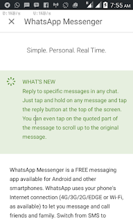 Photo of WhatsApp Add New Feature Which Let You Quote In Reply