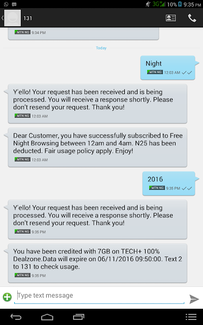 Photo of TechPlus2016: How To Get MTN 7GB For N2000 Data Plan