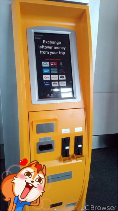 Photo of This ATM Receives Cash And Pays It Directly Into Your Paypal Accounts And Other e-Currency accounts