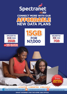 Photo of Spectranet Re-introduces N7, 000 For 15GB Data Plan