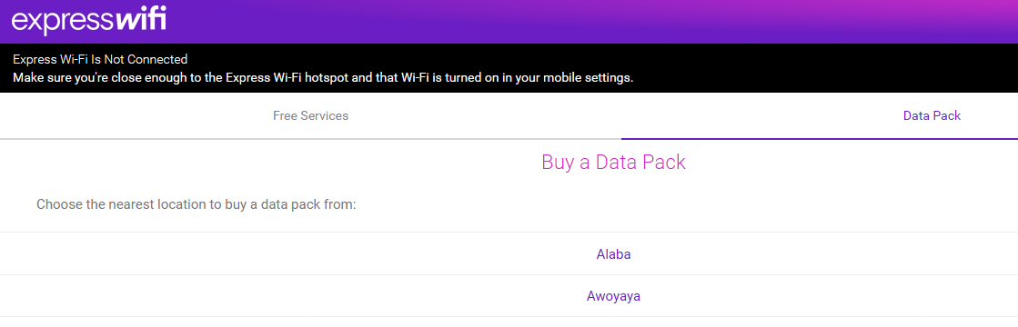 Photo of Here Are The Locations Where You Can Buy Your Cheap Express WiFi Data Bundles In Lagos