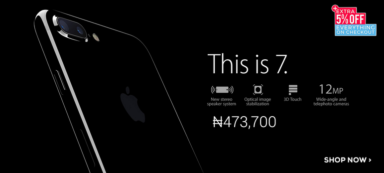 Photo of In Case You Have ₦500,000 You Are Not Using, The iPhone 7 Now Availabe In Jumia