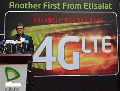 Photo of Etisalat Super Fast 4G LTE Service Live In Lagos,