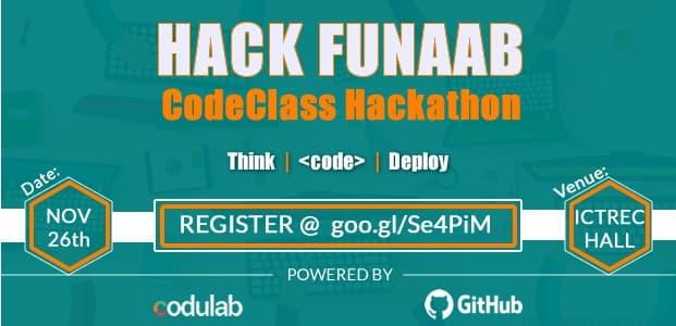 Photo of Hack FUNAAB: Codulab Invites You To Her CodeClass Hackathon