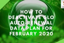 Photo of How To Deactivate Glo Auto-Renewal Data Plan For February 2020