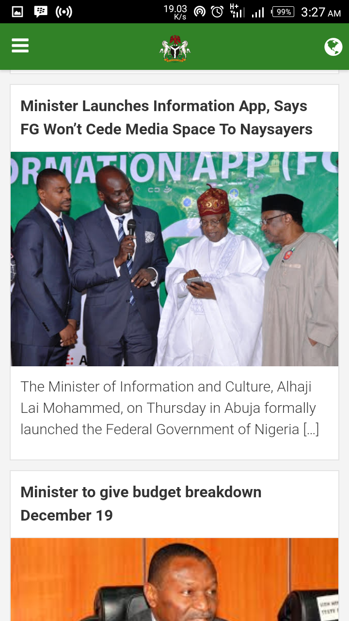 Photo of FG Unveils Buhari Mobile App, Download Link Available