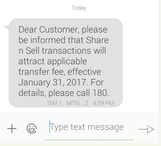 Photo of MTN share n sell service would no longer be free from January 31