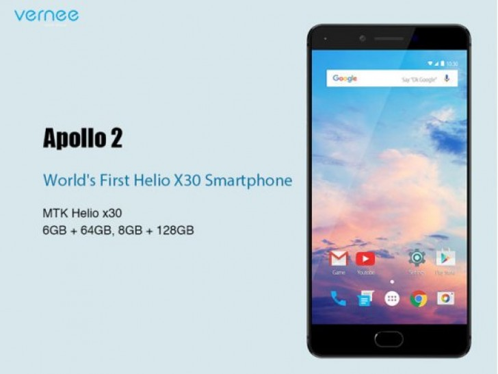 Photo of Vernee Apollo 2 to be World's first smartphone with Helio X30 and 8GB RAM