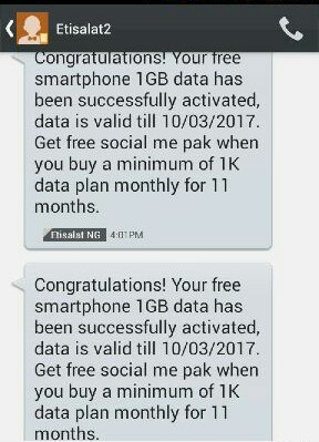 Photo of See how to get Etisalat free 2GB of data instead of just 1GB data