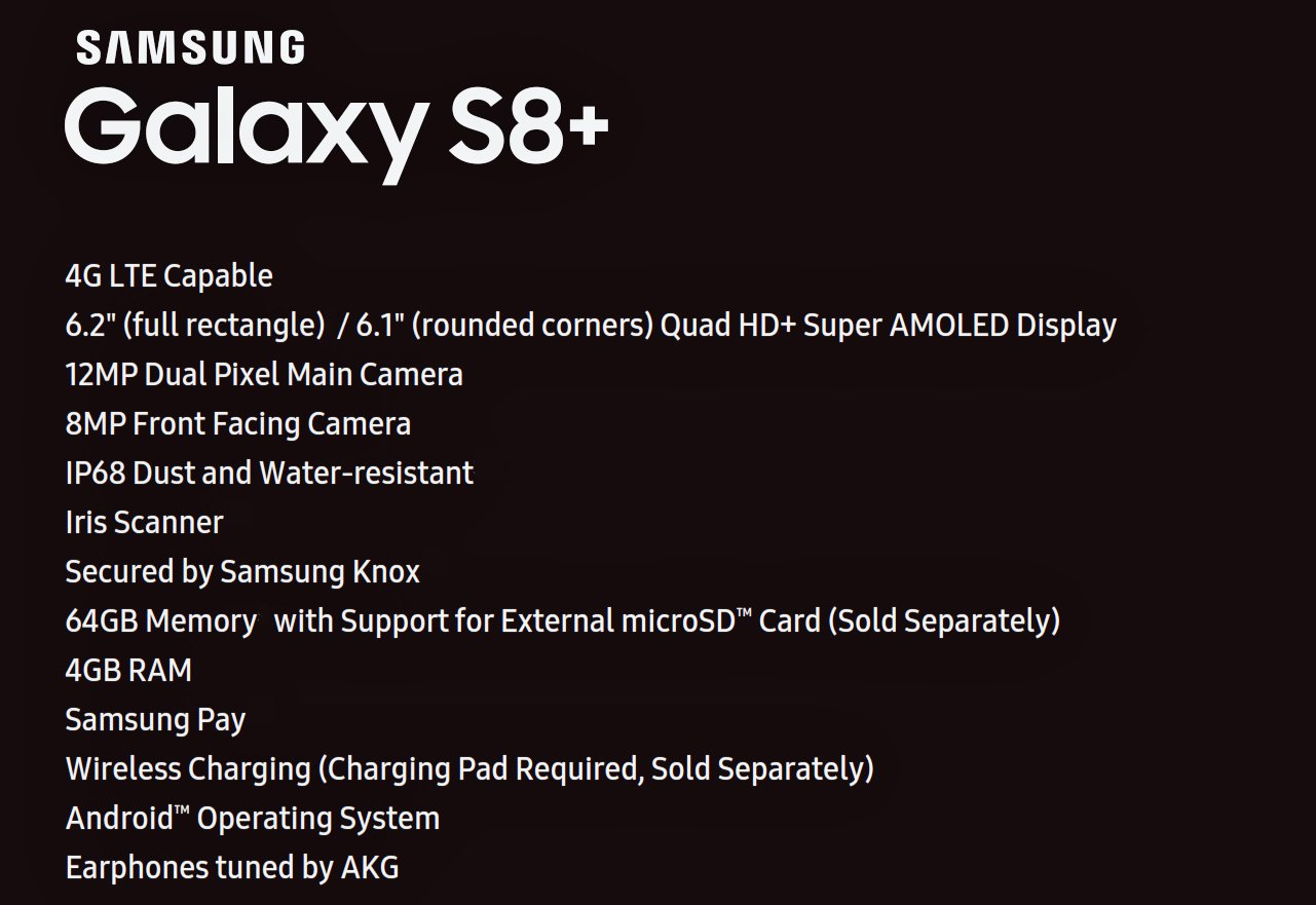 Photo of Samsung Galaxy S8+ complete specs leaks online