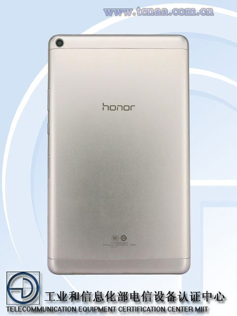 Photo of Huawei MediaPad T3 spotted at TENAA with 8-inch Nougat tablet