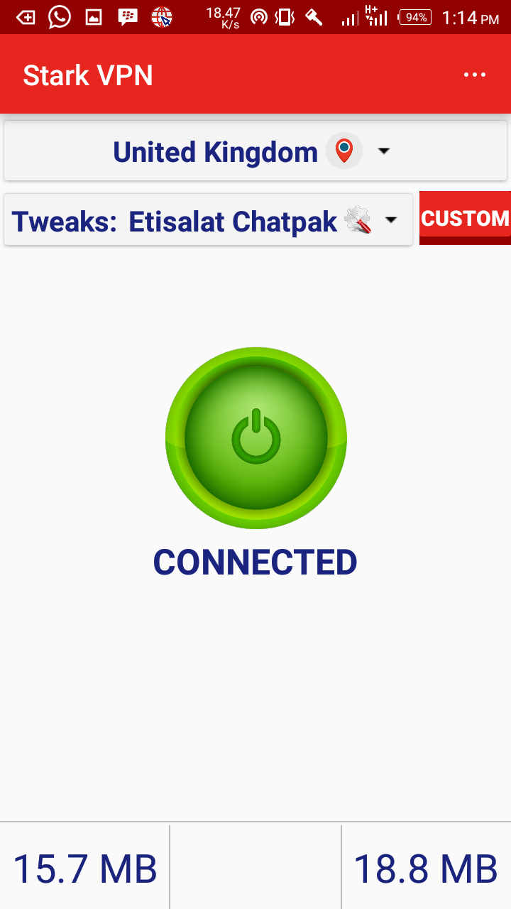 Photo of Latest Stark VPN V3.0 now come with built-in tweak for Etisalat chatpak
