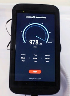Photo of ZTE Gigabit Phone with download speeds up to 1 Gbps launched at MWC 2017