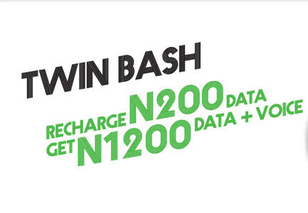 Photo of Still 🔥: Get free 200MB, 500MB, 1GB, 2GB and bonus credits from Glo Twin bash