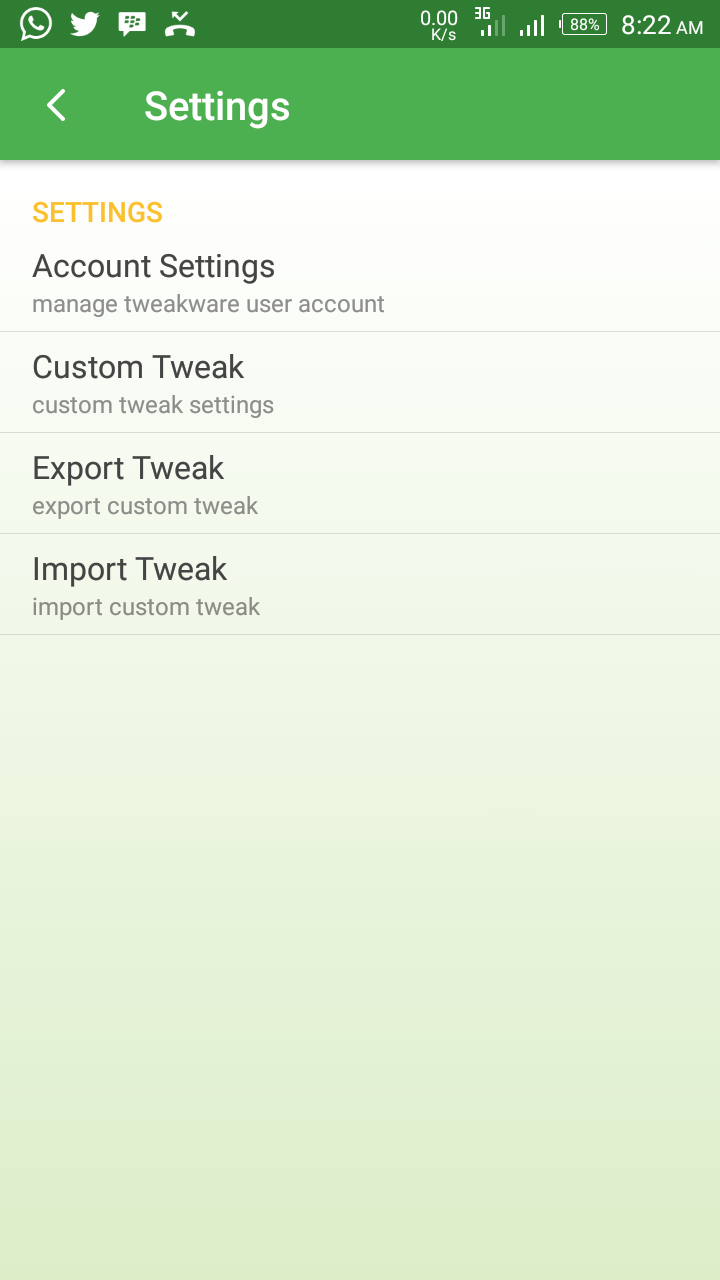 Photo of Tweakware V5.7 released with the ability to export/import tweak for free browsing