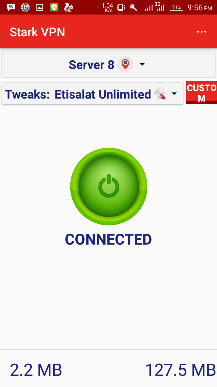 Photo of Etisalat Unlimited Free Browsing Now Blazing With Stark VPN V3.4