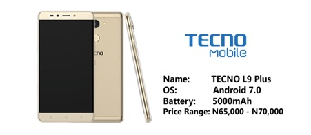 Photo of Tecno L9 Plus confirmed with 5,000mAh battery and fast charging support