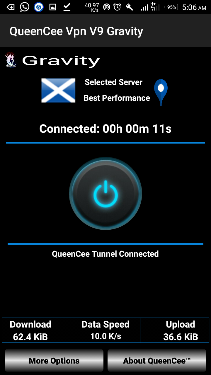 Photo of GLO unlimited free browsing blaze faster and stable with QueenCee VPN V9 gravity