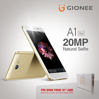Photo of Gionee Announce A1 Lite With 20MP Selfie Camera, 4000mAh Battery Capacity