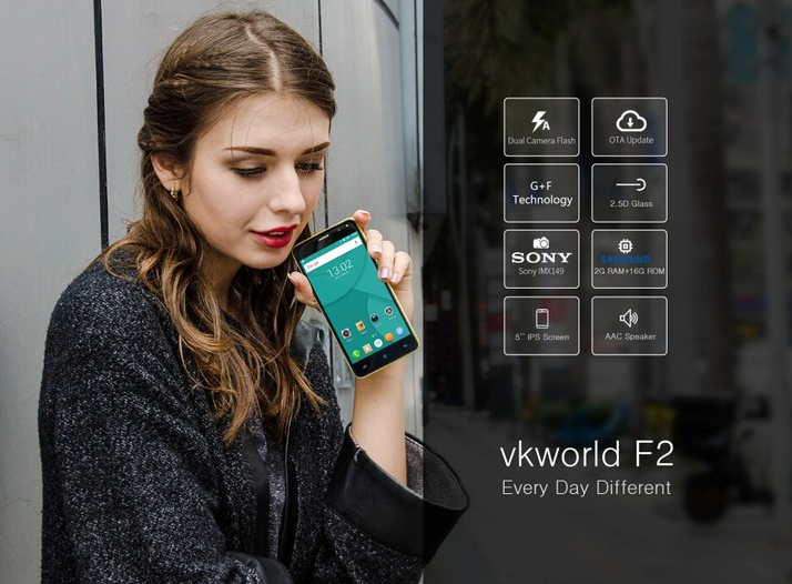 Photo of Vkworld Has Acquired Cagabi, Launches Vkworld F2 With 2GB Of RAM For $59