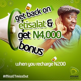 Photo of See How To Enjoy Free 750MB From Etisalat With Just N200 Recharge