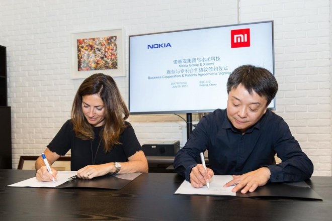 Photo of Xiaomi and Nokia sign a business collaboration and patent agreements
