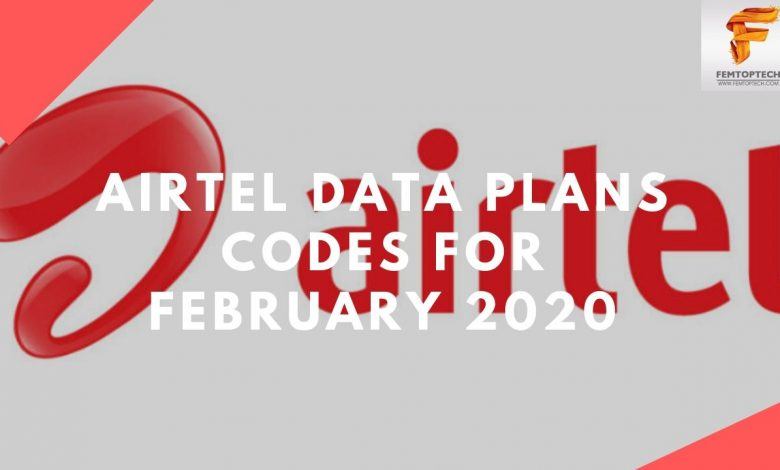 Airtel Data Plans Codes For February 2020