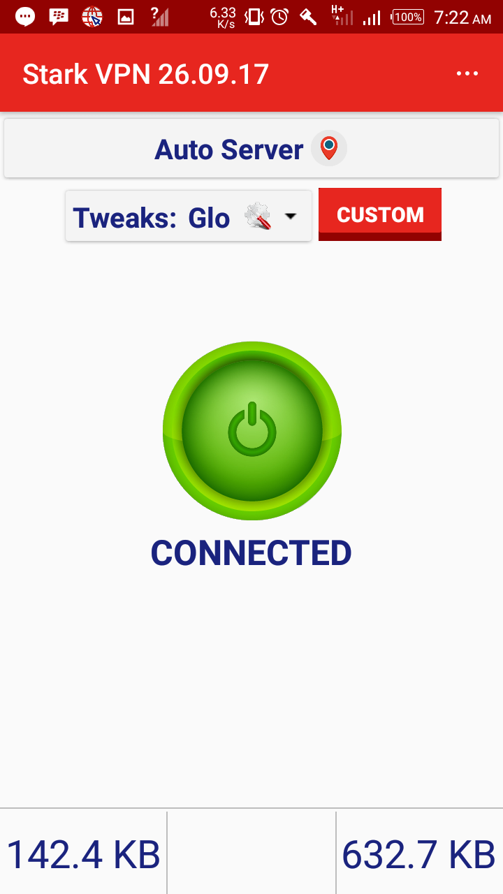 Photo of Glo Unlimited Free Browsing Now Blazing With Stark VPN V4.4