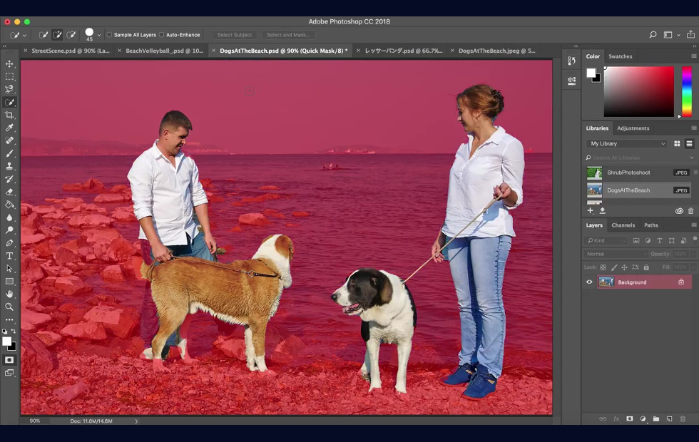 Photo of Adobe is building an AI tools that will instantly pick out subjects from background in Photoshop