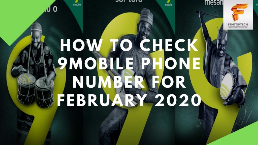 How To Check 9Mobile Phone Number For February 2020