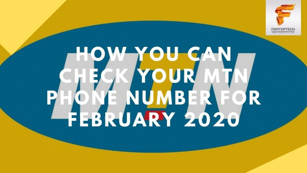 How You Can Check Your MTN Phone Number For February 2020