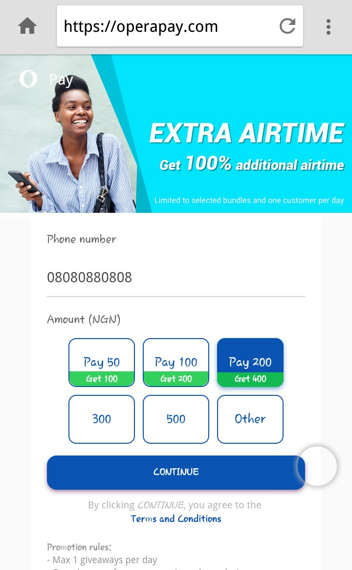 Photo of Opera Pay: How To Enjoy 100% Additional Bonus Of Airtime On All Network