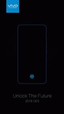 Photo of Vivo to unveils first smartphone with on-screen fingerprint reader on January 10