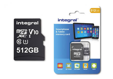 Photo of Integral microSD card with 512GB storage capacity to be launched in February