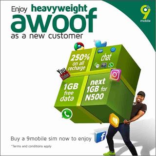 Photo of See How To Activate 9Mobile Heavy Weight Awoof And Enjoy Free 1GB Of Data And More