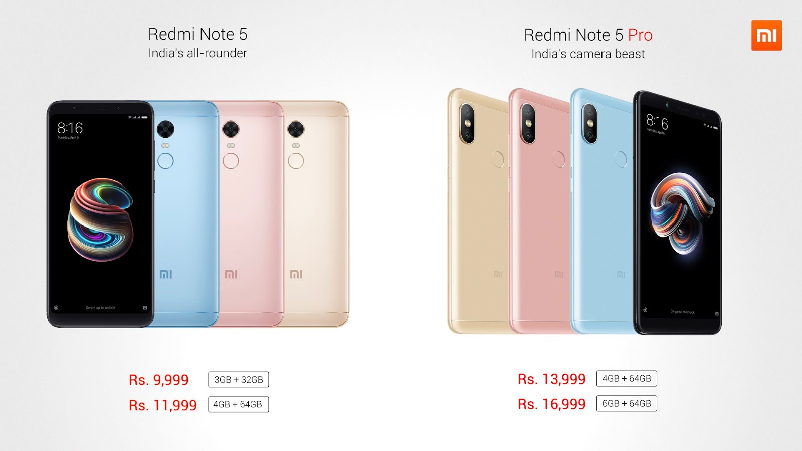 Photo of Xiaomi Note 5 and Xiaomi Note 5 Pro launches in India