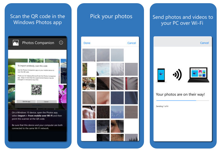 """Photo of Microsoft """"Photos Companion"""" an Application for Quick Transfer of Photos and Videos on Android and iOS"""