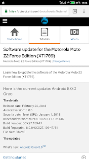 Photo of Android 8.0 Oreo Update Hits Moto Z2 Force AT&T Carrier