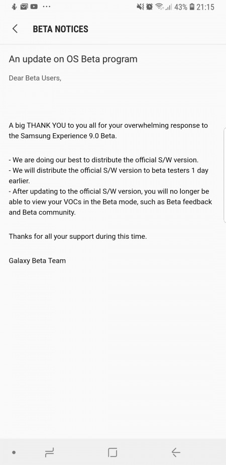 Photo of Samsung Galaxy S8 and S8+ to start receiving Android Oreo Update
