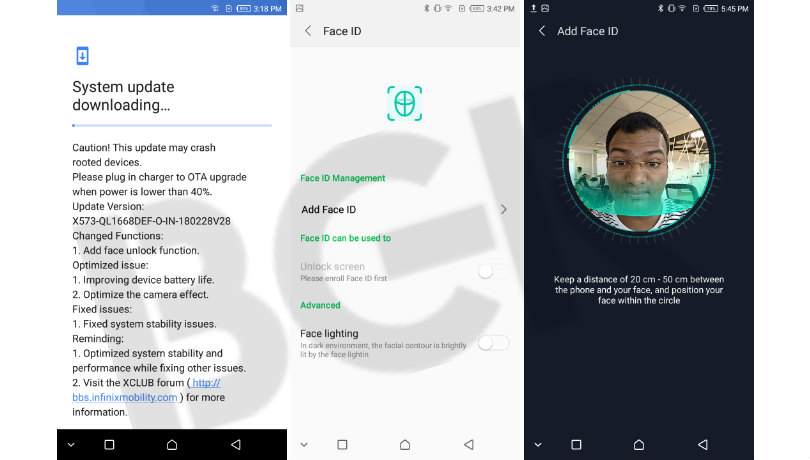 Photo of Infinix Mobile Adds Face Unlock To Hot S3 in new OTA update