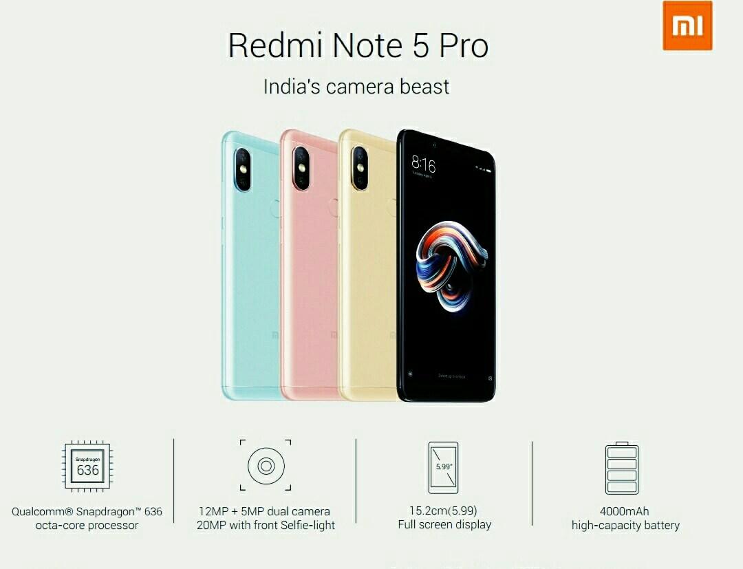 Photo of China To Get Xiaomi Redmi Note 5 Pro as Redmi Note 5
