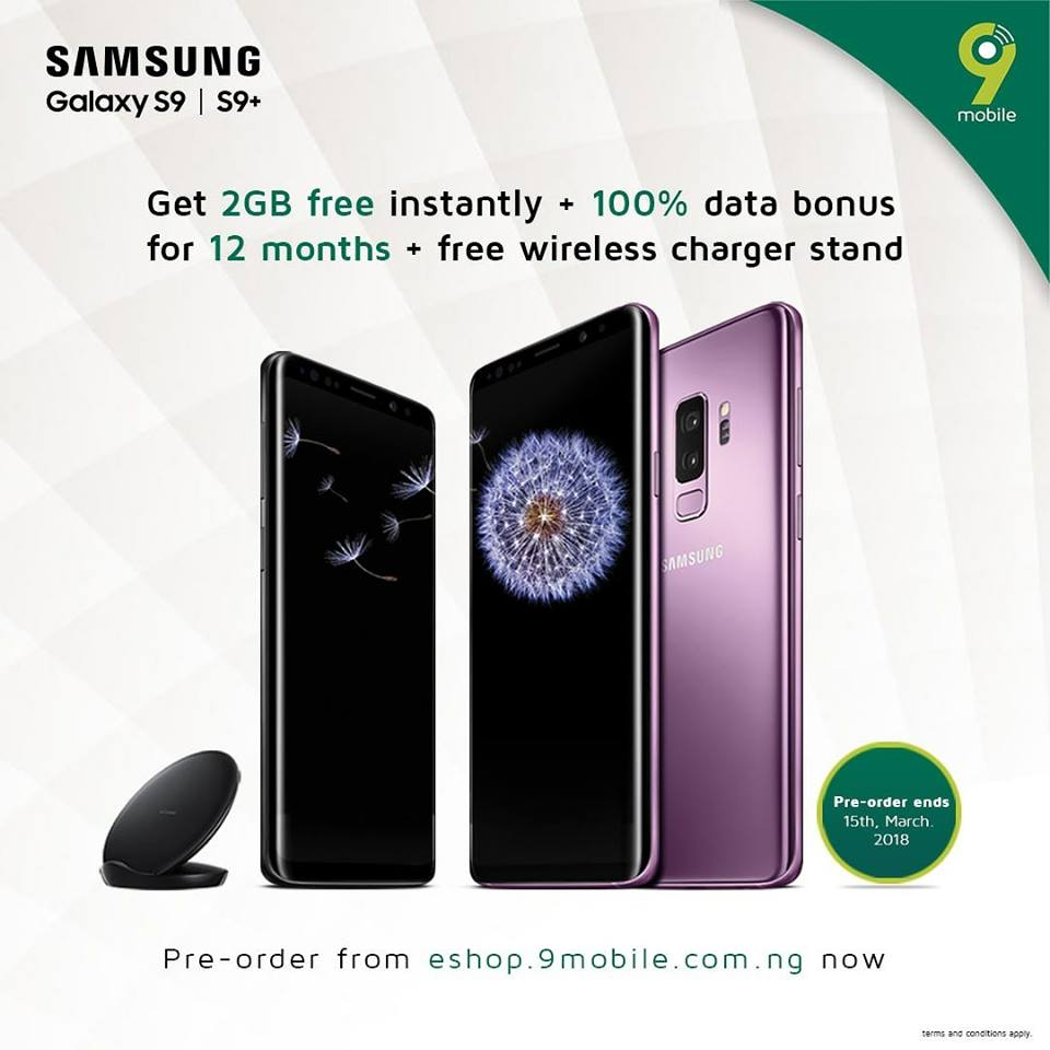 Photo of Pre-order Samsung S9/S9+ and enjoy 24GB of data from 9Mobile for 1 Year + other offers