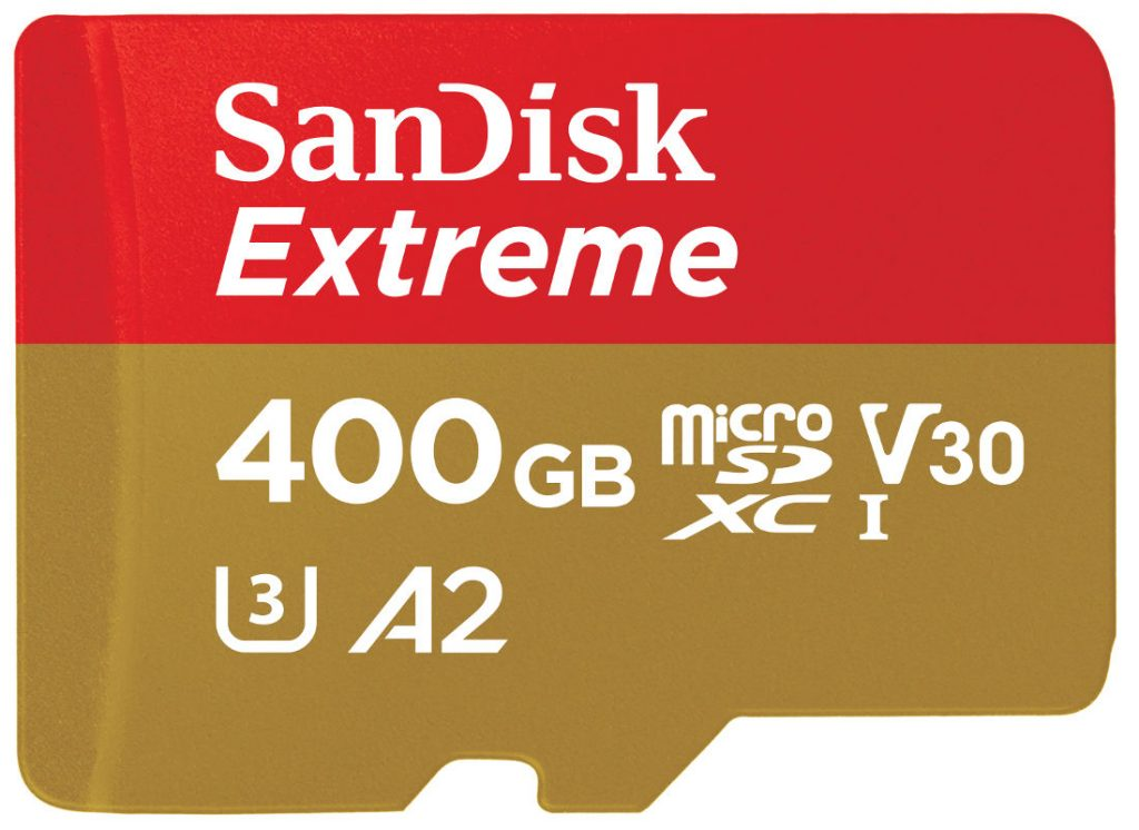 Photo of SanDisk World's Fastest MicroSD Card Of 400GB announced