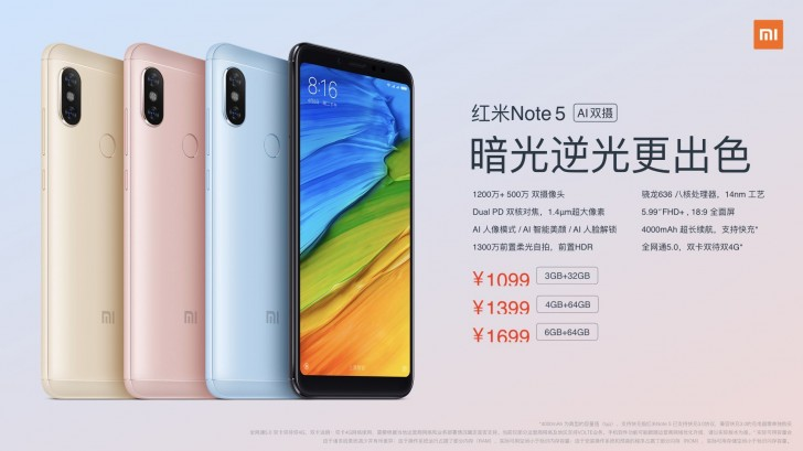 Photo of Xiaomi launches Improved Redmi Note 5 with Clearer Camera and Artificial Intelligence