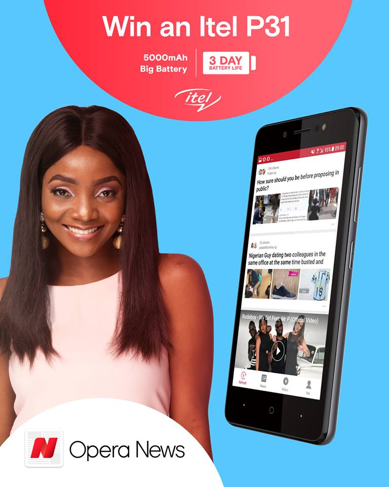 Photo of Contest: See How You And Your Friends Can Win Free Itel P31 Smartpone With 5000mAh battery