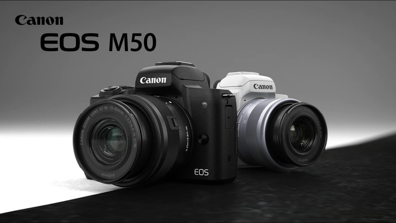 Photo of Canon EOS M50 With 4K Mirror-less Camera Launched in India