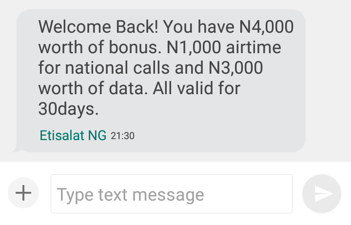 Photo of See How to Get Free 2GB Data and ₦5,000 Airtime on 9Mobile (Etisalat) valid for a Month