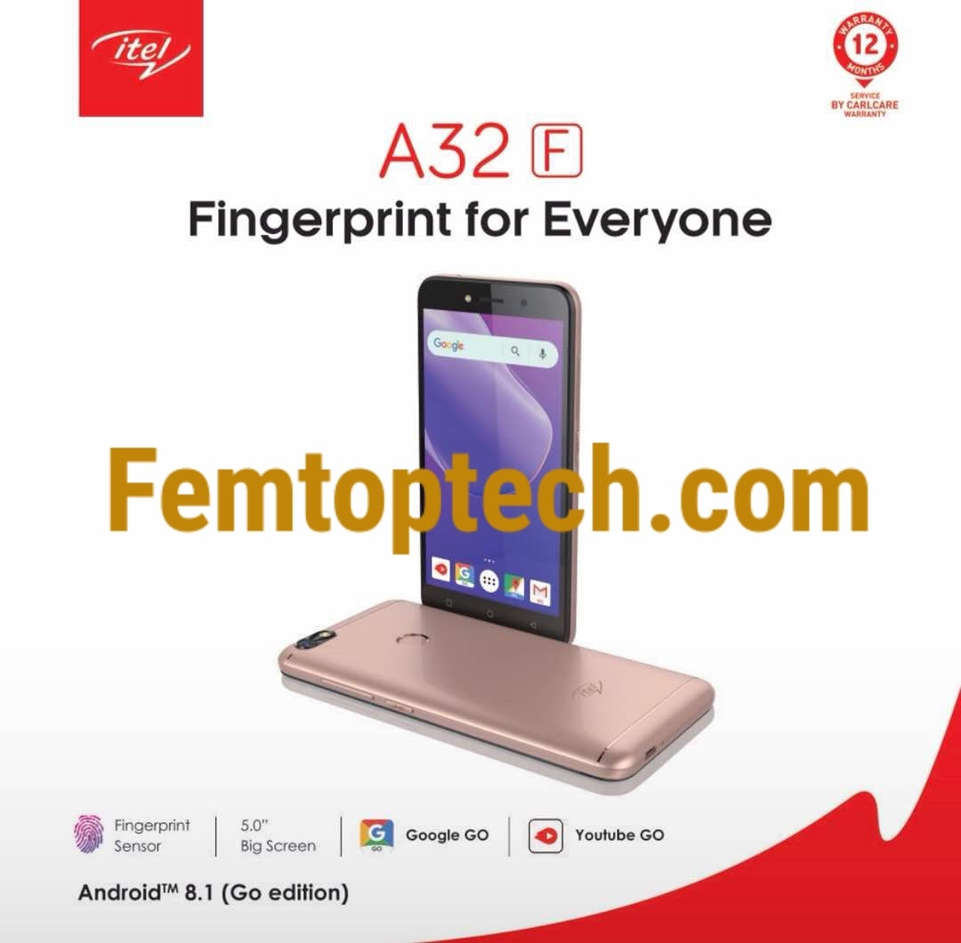 Photo of Itel A32F Specification and Price In Nigeria