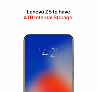Photo of This Lenovo Z5 to come with 4 Terabytes Internal storage capacity