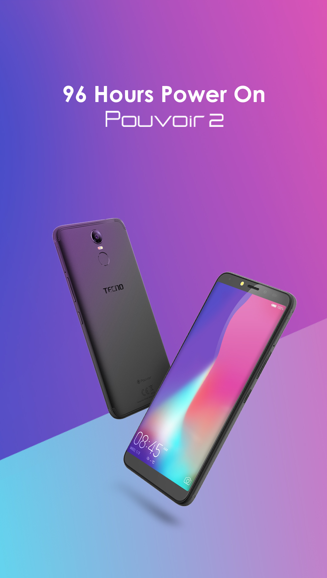 Photo of Say Hello To Tecno Pouvoir 2; a 96 Hours Power On Smartphone for Heavy users